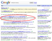 search engine optimization for google number one ranking